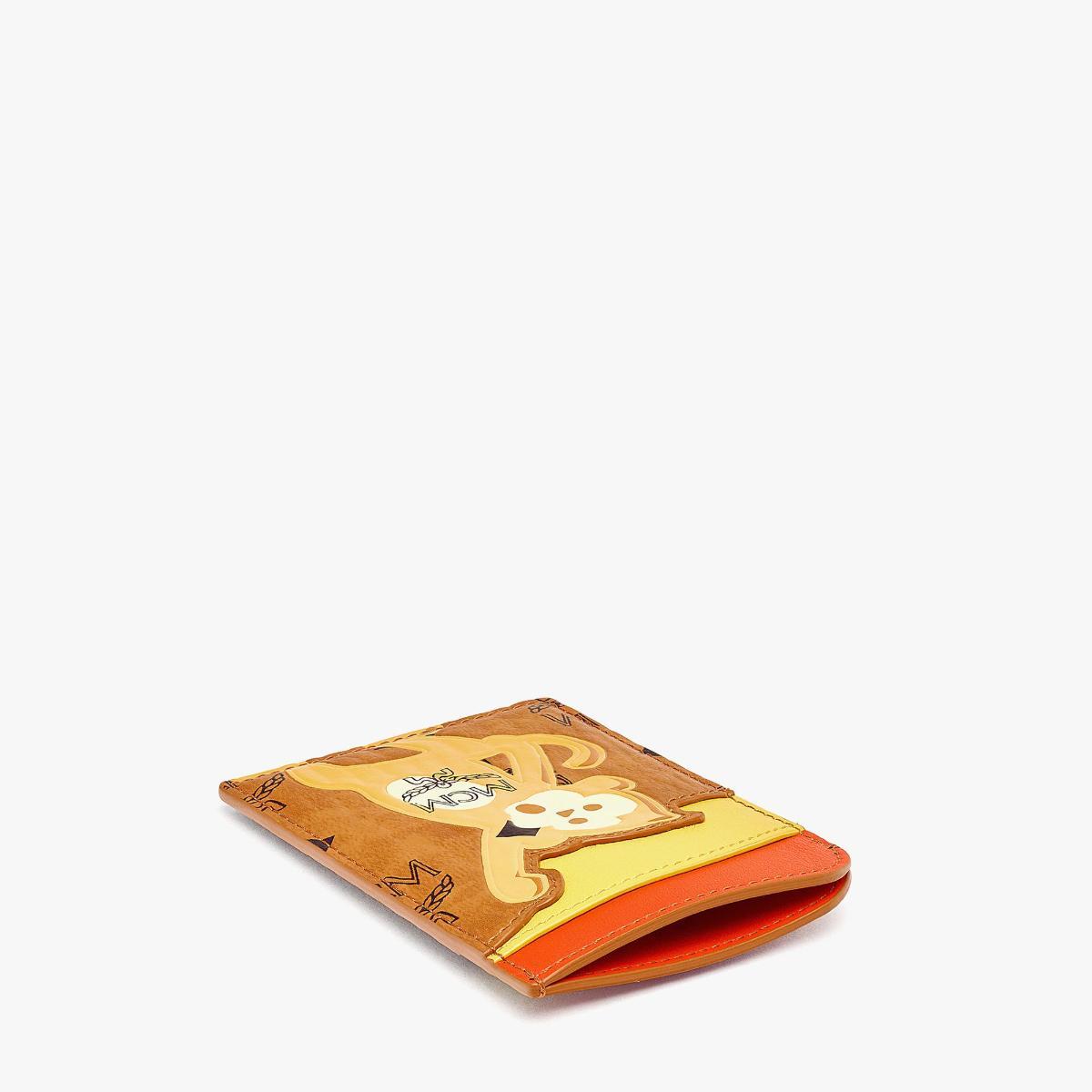 엠씨엠(MCM) MCM Zoo N/S 비세토스 레더 믹스 몽키 카드 케이스 MXABSXL05CO